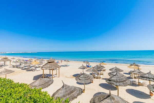 Vue panoramique - Oasis Marine 3* Djerba Tunisie