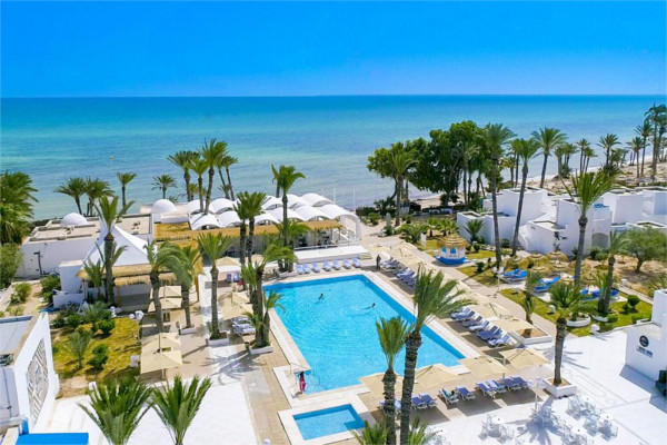 Vue panoramique - Club Ôclub Experience Hari Club Beach Resort 4* Djerba Tunisie