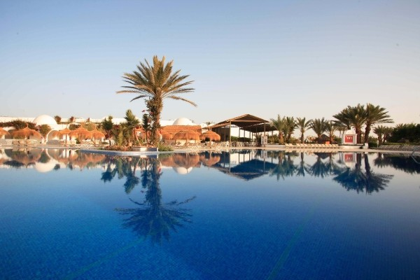 Vue panoramique - Hôtel Seabel Rym Beach 4* Djerba Tunisie