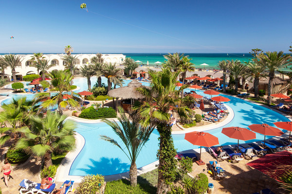 Vue panoramique - Sentido Djerba Beach