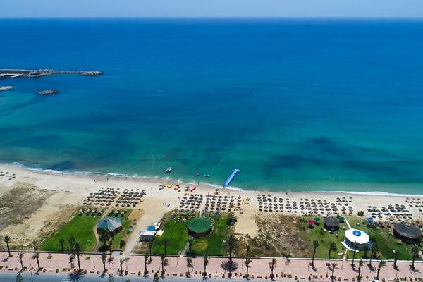 Plage - Hôtel Médina Solaria & Thalasso (sans transport) 5* Hammamet Tunisie