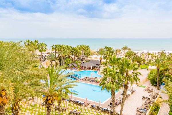 Vue panoramique - Hôtel Paradis Palace (sans transport) 4* Hammamet Tunisie
