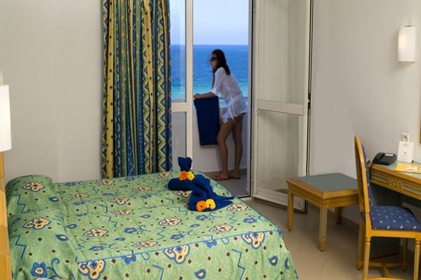 Chambre - Hôtel Sahara Beach 3* Monastir Tunisie