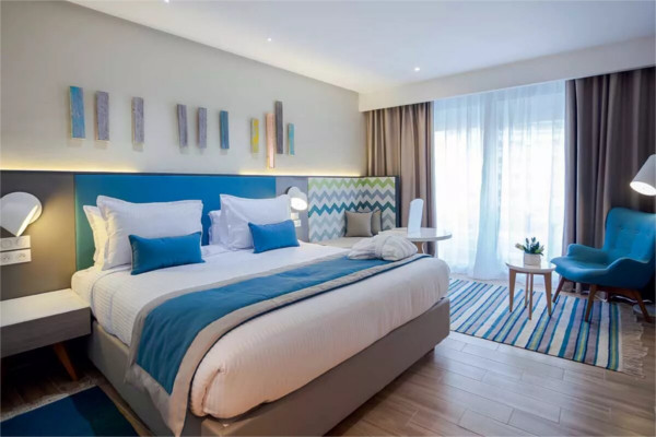 Chambre - Hôtel The Pearl Resort & Spa 5* Monastir Tunisie