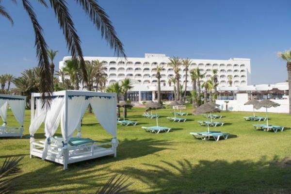 Facade - Hôtel Mondi Club One Resort Jockey 4* Monastir Tunisie