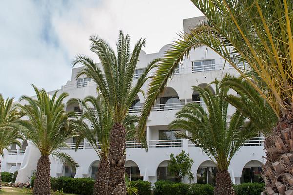 Facade - Hôtel Sentido Le Sultan 4* Monastir Tunisie