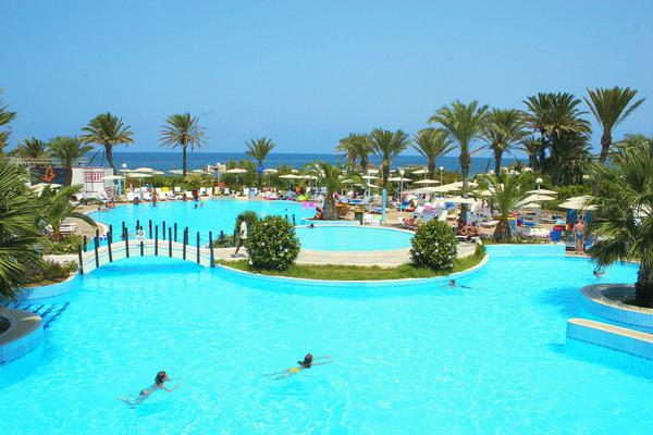 Piscine - Hôtel El Mouradi Skanes 4* Monastir Tunisie