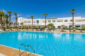 Tunisie-Monastir, Hôtel Hammamet Beach