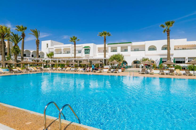 Piscine - Hôtel Hammamet Beach 3* Monastir Tunisie