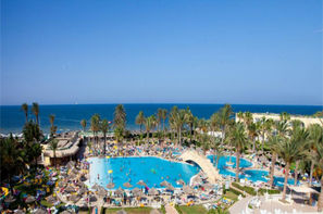 Tunisie-Monastir, Hôtel Houda Golf Beach & Aquapark