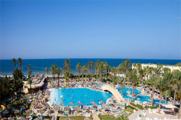 Piscine - Hôtel Houda Golf Beach & Aquapark 3* Monastir Tunisie