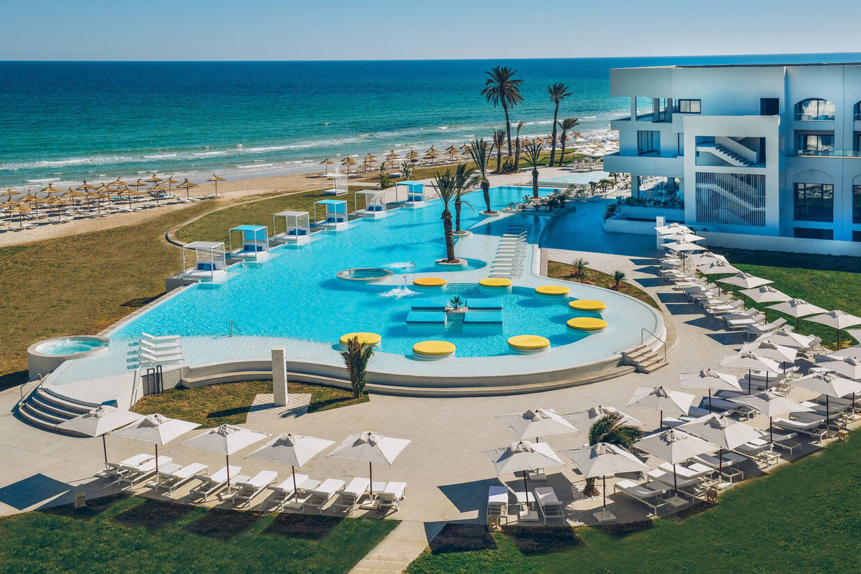 Piscine - Hôtel Iberostar Kuriat Palace 5* Monastir Tunisie
