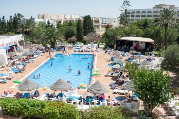 Piscine - Hôtel Marhaba Salem 4* Monastir Tunisie