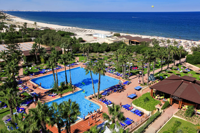 Piscine - Hôtel Sahara Beach 3* Monastir Tunisie