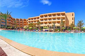Tunisie-Monastir, Hôtel Sentido Rosa Beach