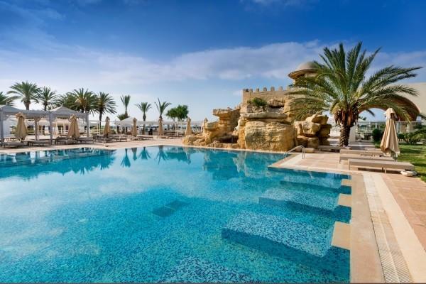 Piscine - Marhaba Hammamet Palace 5* Tunis Tunisie