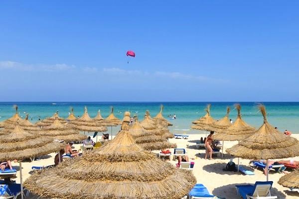 Plage - Club Jet tours One Resort Aquapark & Spa 4* Monastir Tunisie