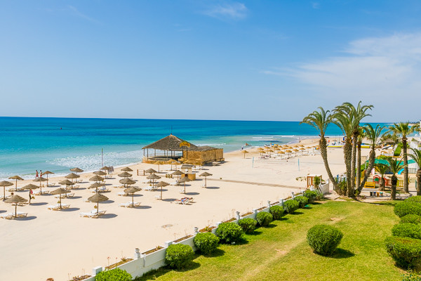 Plage - Club Jumbo Hammamet Beach 3* Monastir Tunisie