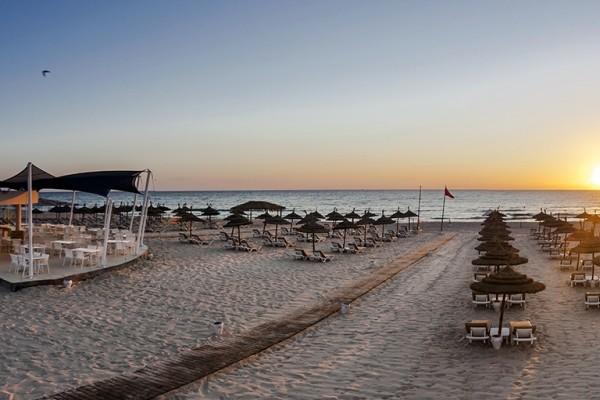 Plage - Hôtel Marhaba Sousse 4* Monastir Tunisie