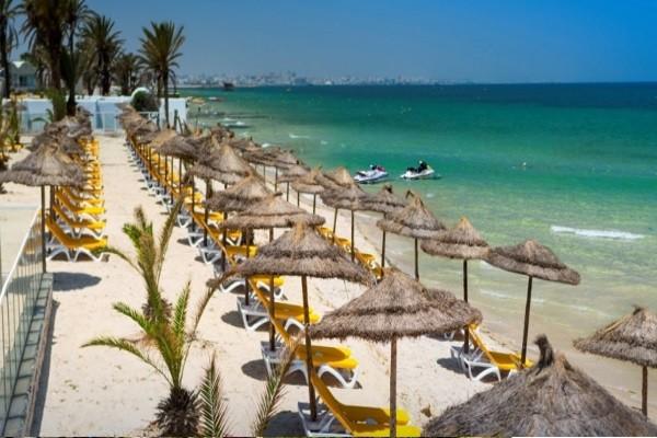 Plage - Hôtel Shems holiday village vacances 3* Monastir Tunisie
