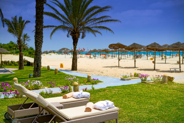 Plage - Hôtel Steigenberger Marhaba Thalasso Hammamet 5* Monastir Tunisie