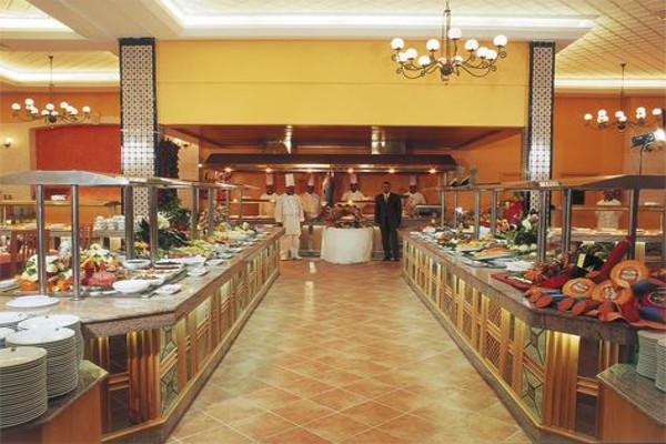 Restaurant - Hôtel Nour Palace 5* Monastir Tunisie