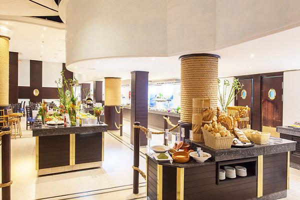 Restaurant - Hôtel Sentido Le Sultan 4* Monastir Tunisie