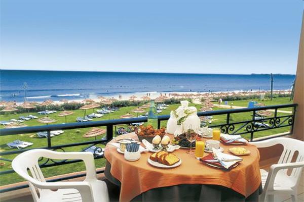 Terrasse - Hôtel Nour Palace 5* Monastir Tunisie