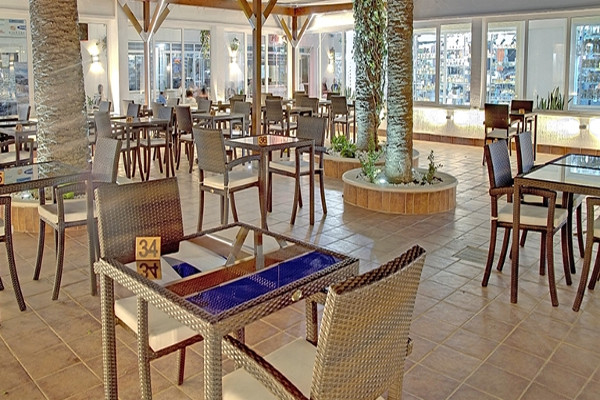 Terrasse - Hôtel Sahara Beach 3* Monastir Tunisie