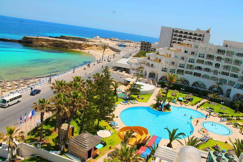 Vue panoramique - Hôtel Delphin Habib Ribat 4* Monastir Tunisie
