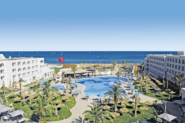 Vue panoramique - Club FTI Voyages Nozha Beach 4* Monastir Tunisie
