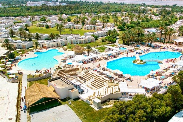 Vue panoramique - Club Jet tours One Resort Aquapark & Spa 4* Monastir Tunisie