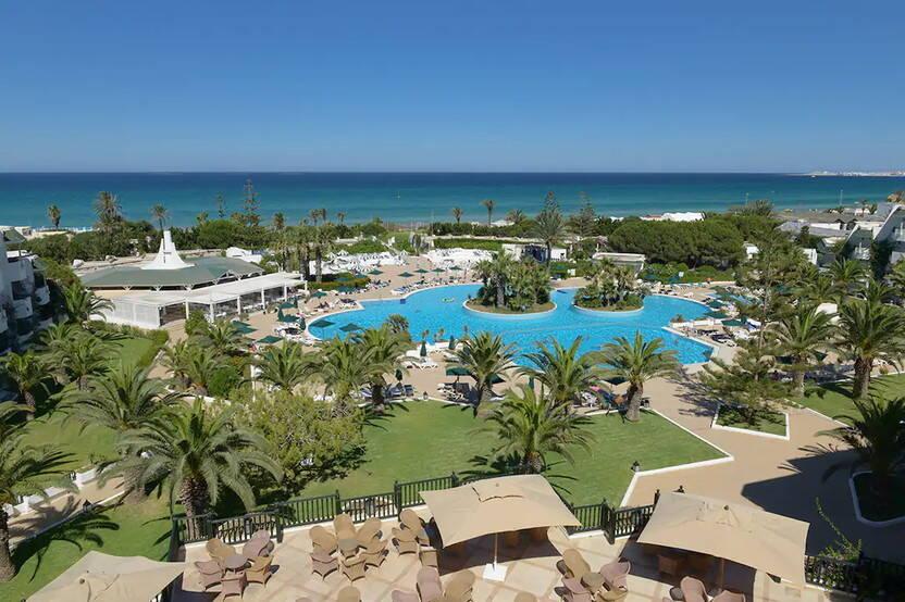 Vue panoramique - Club Lookéa One Resort el Mansour 4* Monastir Tunisie