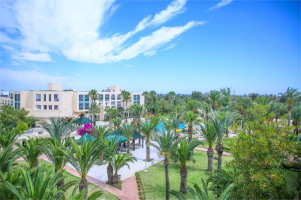 Vue panoramique - Hôtel Nérolia & Spa 4* Monastir Tunisie