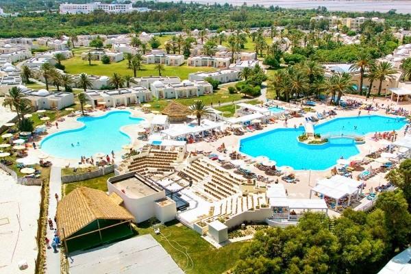 Vue panoramique - Club One Resort Aquapark & Spa 4* Monastir Tunisie