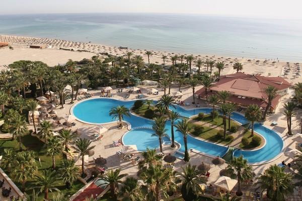 Vue panoramique - Hôtel Riadh Palm's 4* Monastir Tunisie