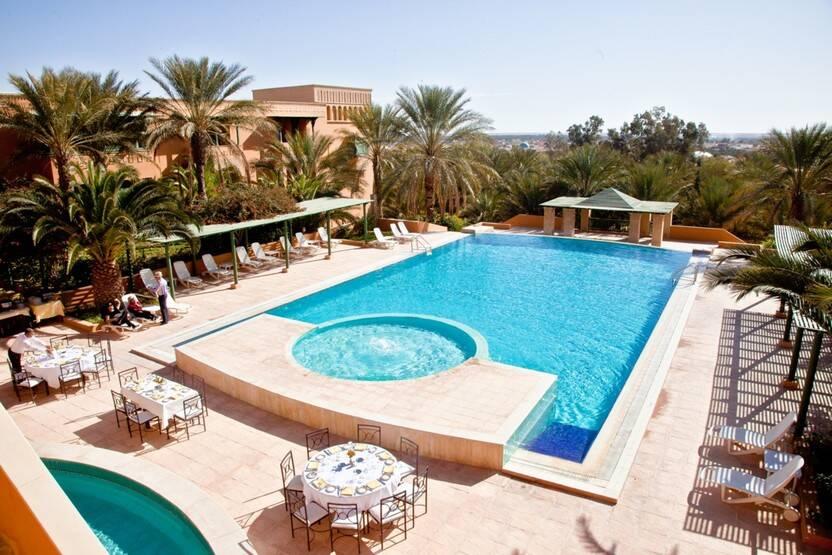 Piscine - Hôtel Ksar Rouge 4* Tozeur Tunisie