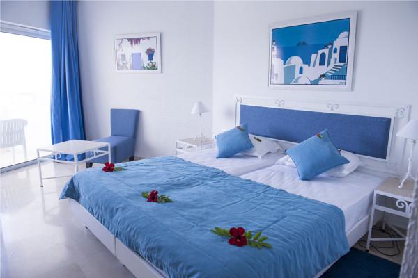 Chambre - Club Marmara Palm Beach Hammamet 4* Tunis Tunisie