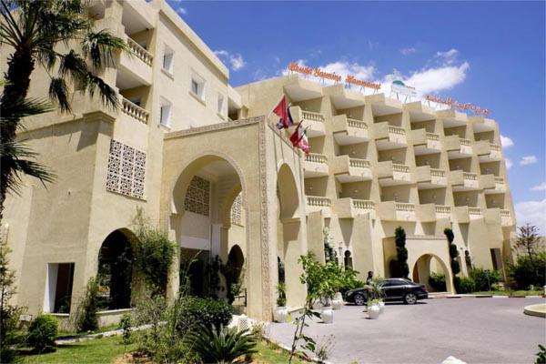 Facade - Hôtel Houda Yasmine 4* Tunis Tunisie