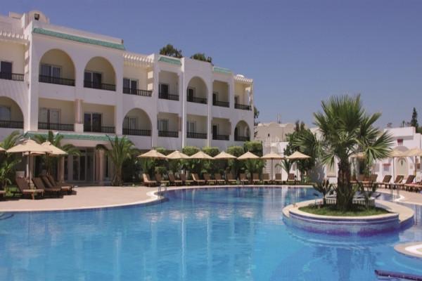 Facade - Hôtel Royal Nozha 4* Tunis Tunisie