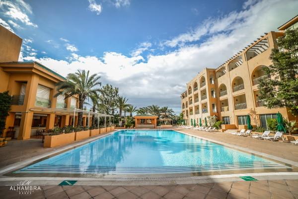 Piscine - Hôtel Alhambra Thalasso Hammamet 5* Yasmine Hammamet Tunisie