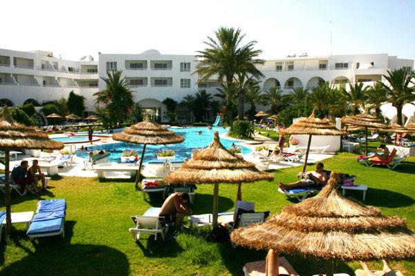 Piscine - Hôtel Bahia Beach 4* Tunis Tunisie