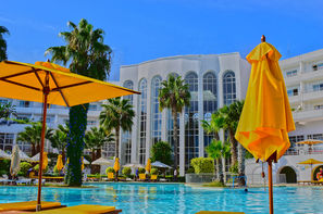 Tunisie-Tunis, Hôtel Blue Marine