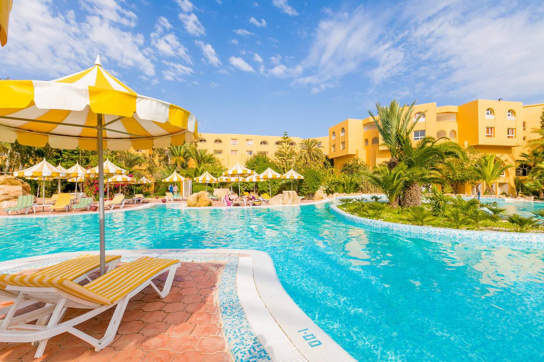 Piscine - Hôtel Chich Khan 4* Tunis Tunisie