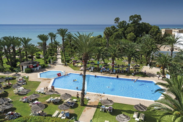 Piscine - Club Coralia Palm Beach Hammamet 4* Hammamet Tunisie