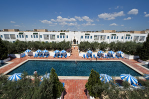 Tunisie-Tunis, Hôtel Diar Lemdina
