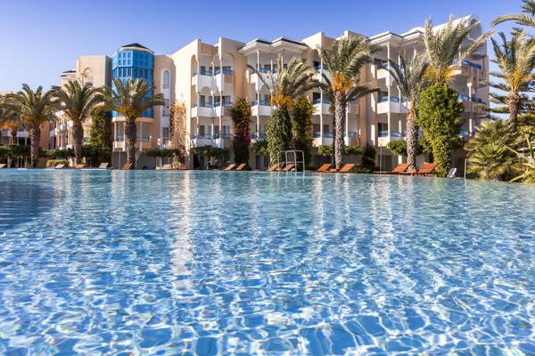 Piscine - Hôtel Hasdrubal Thalassa & Spa Yasmine Hammamet 5* Tunis Tunisie
