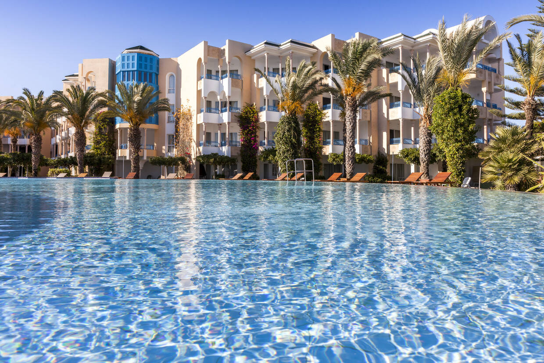 Piscine - Hasdrubal Thalasso & Spa Yasmine Hammamet 5* Tunis Tunisie