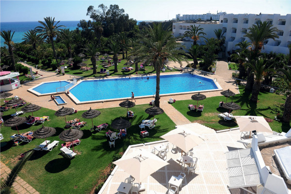 Piscine - Club Marmara Palm Beach Hammamet 4* Tunis Tunisie