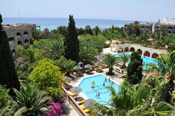 Piscine - Hôtel Méditerranée Thalasso Golf 3* Tunis Tunisie
